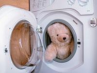Giặt là thú nhồi bông
