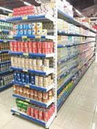 Kệ siêu thị đơn áp tường