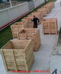 Thùng gỗ Pallet