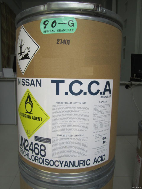 Bán TCCA (Viên sủi khử trùng)