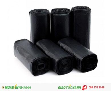 Túi Pe đen đựng rác