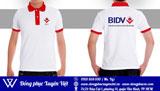 Áo thun đồng phục BIDV