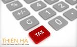 Tư vấn thuế
