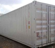 Container khô 40-feet vận chuyển nước giải khát