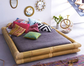 Giường ngủ bằng tre