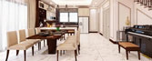 Thiết kế thi công nội thất nhà bếp