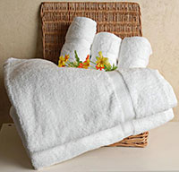 Bộ khăn khách sạn spa
