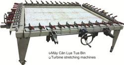 Máy căng lụa Tua bin