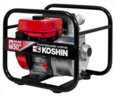 Máy bơm cứu hỏa Koshin