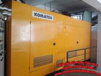 Máy đi phát điện Komatsu