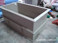 Bể nhựa PVC