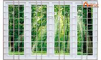 Khung sắt cửa sổ
