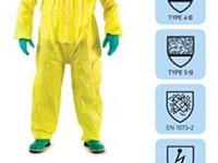 Bộ quần áo chịu nhiệt hóa chất