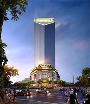 Thi công khu khách sạn nhà ở Trung tâm Thương mại Vincom