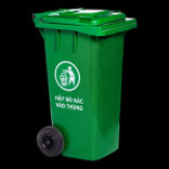 Thùng rác công cộng 120 lít