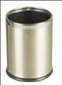 Thùng rác inox 2 lớp dạng tròn