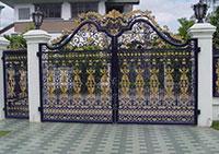 Cổng cửa sắt