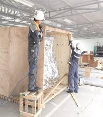 Đóng gói hàng hóa kiện gỗ