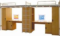 Giường kết hợp bàn học