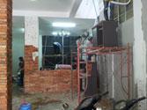 Thi công sửa chữa nhà cửa