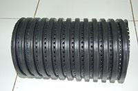 ống nhựa HDPE gân xoắn đục lỗ
