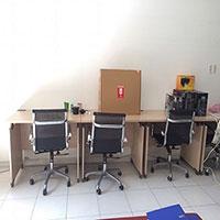Bàn ghế văn phòng cũ