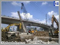Phá dỡ bê tông công trình xây dựng