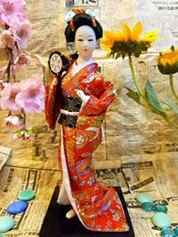 Búp bê Geisha mã GY34 650K