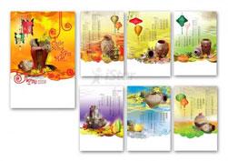 Thiết kế và in ấn lịch treo tường