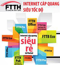 Dịch vụ Internet cáp quang