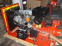 Máy Diesel 4 Máy Trần