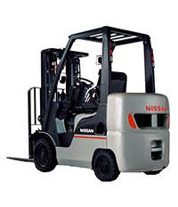 Xe nâng hàng Nissan 35 tấn