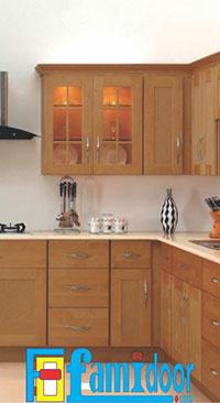 Kệ bếp gỗ