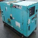 Máy phát điện Nhật cũ 25KVA