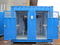 Container có toilet 10 feet