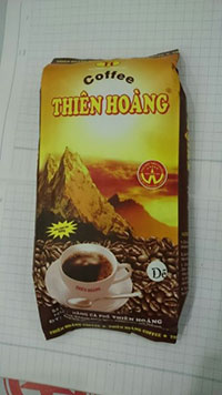 Sản phẩm cà phê Thiên Hoàng