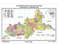Đo vẽ bản đồ hiện trạng sử dụng đất 2010