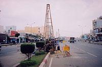 Khoan khảo sát địa chất công trình cầu vượt