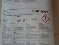 Patassium Sorbate - Germany