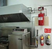 Hệ thống chữa cháy bếp