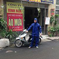 Bộ áo mưa bảo hộ