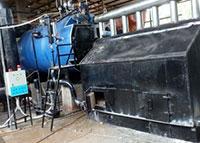 Lò hơi buồng đốt phụ ghi tĩnh 7 tấn
