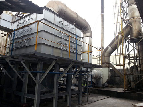 Hệ thống lọc khí thải lò đốt