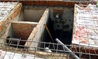 Thi công xây lấp hố ga hầm cầu