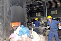Hệ thống xử lý chất thải rác thải