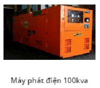 Máy phát điện 100Kav
