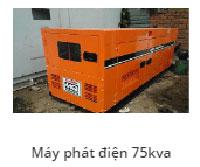 Máy phát điện 75Kav