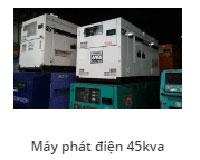 Máy phát điện 45Kav