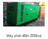 Máy phát điện 200Kav