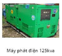 Máy phát điện 125Kav